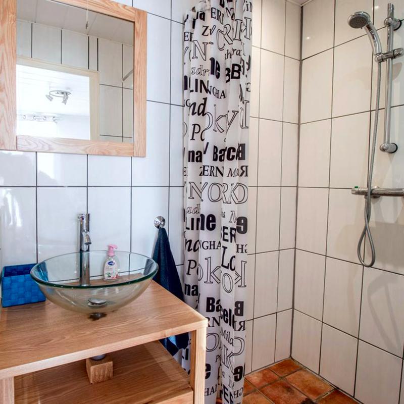 Descriptif gîte : La salle de douche